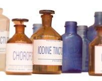 Frascos da medicina Imagem de Stock Royalty Free