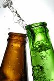 Frascos de cerveja Imagem de Stock Royalty Free