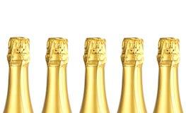 Frascos de Champagne Imagens de Stock Royalty Free