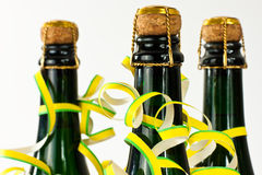 Frascos de Champagne Imagem de Stock Royalty Free
