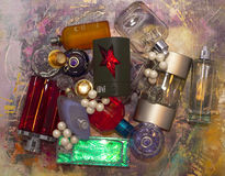 Frascos de perfume Foto de Stock