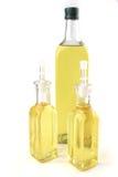 Frascos de petróleo verde-oliva Fotografia de Stock