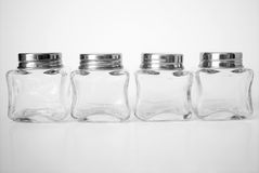 Frascos de vidro fotografia de stock royalty free