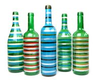 Frascos de vidro decorativos Fotos de Stock Royalty Free
