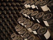 Frascos de vinho Fotografia de Stock