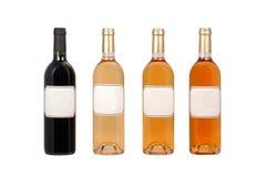 Frascos de vinho Fotografia de Stock Royalty Free