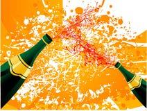 Frascos de vinho Imagem de Stock Royalty Free