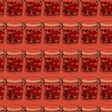 Frascos do atolamento Imagens de Stock