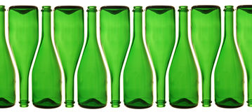 Frascos do champanhe fotografia de stock
