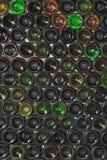 Frascos do fundo Fotos de Stock