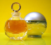 Frascos do perfume foto de stock royalty free