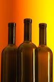 Frascos do vinho Imagens de Stock Royalty Free
