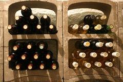 Frascos do vinho Foto de Stock
