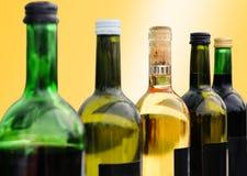Frascos do vinho Fotos de Stock