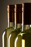 Frascos do vinho branco Foto de Stock Royalty Free
