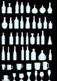 Frascos e vidros Fotos de Stock