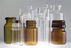 Frascos farmacéuticos Imagen de archivo libre de regalías