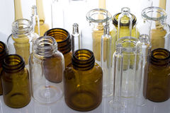 Frascos farmacéuticos III Fotografía de archivo