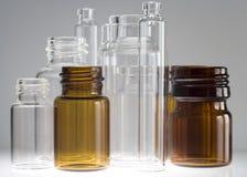 Frascos farmacéuticos V Fotos de archivo