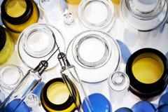Frascos farmacéuticos VI Foto de archivo libre de regalías