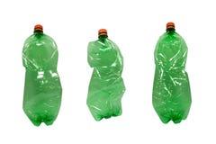 Frascos plásticos Fotos de Stock