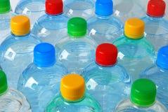 Frascos plásticos Fotografia de Stock