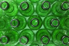 Frascos verdes Fotos de Stock