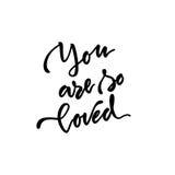 Frase escrita à mão da motivação Fotos de Stock Royalty Free