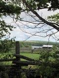 Fraser沿车道的湖视图 库存图片