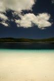 fraser海岛湖mckanzie 图库摄影