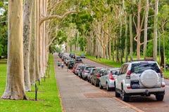 Fraser Avenue - Perth royalty-vrije stock afbeelding