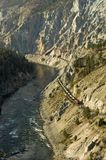 Fraser Canyon Train Royalty Free Stock Images