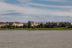 Fraser flod Arkivfoto