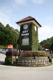 Fraser Hill. Famous landmark, clock tower Royalty Free Stock Photo