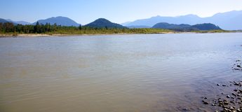 Fraser River Royalty Free Stock Photos
