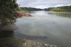 Fraser River royalty-vrije stock foto's