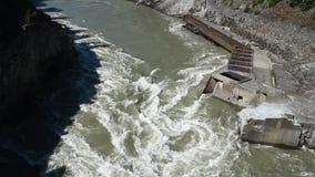 Fraser River en la puerta de los infiernos