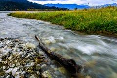 Fraser River, Fraser Valley, Brits Colombia, Canada royalty-vrije stock foto's