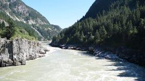Fraser River am Höllen-Tor stock video footage