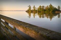 Fraser River Morning Light fotografía de archivo
