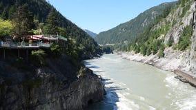 Fraser River na porta dos infernos vídeos de arquivo