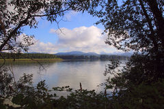 Fraser River near Mission, BC Royalty Free Stock Photography