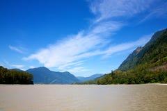Fraser River poderoso fotografia de stock royalty free