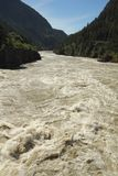 Fraser River Rapids, British Columbia, Canada Royalty Free Stock Image