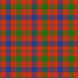 Fraser tartan Royalty Free Stock Photo