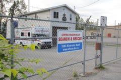Fraser Valley Search central y rescate Foto de archivo libre de regalías