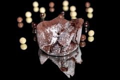 Frasig choklad arkivfoton