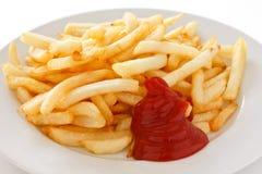 Frasig pommes frites Royaltyfri Foto