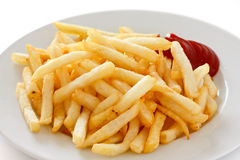 Frasig pommes frites Royaltyfri Fotografi