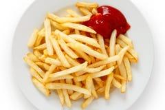 Frasig pommes frites Arkivfoton